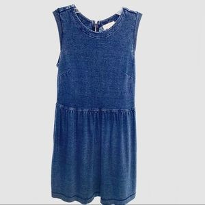 Loft Denim Cotton Dress